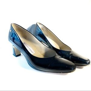 Etienne Aigner Taylor Patent leather black pump 7
